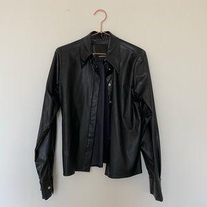 Assembly men's vegan leather jacket
